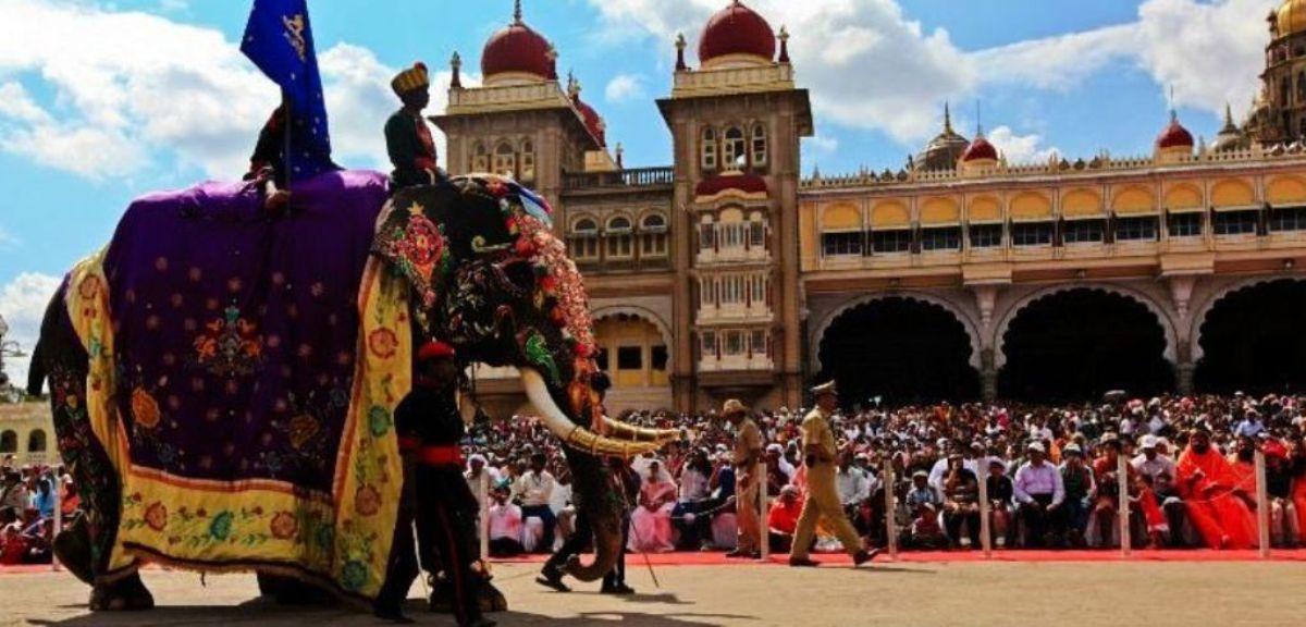 Jumbo Savari in Mysore Dasara Festival