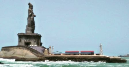 Thiruvalluvar Statue-Places to visit in Kanyakumari