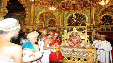 Special Durbar at Mysore Palace