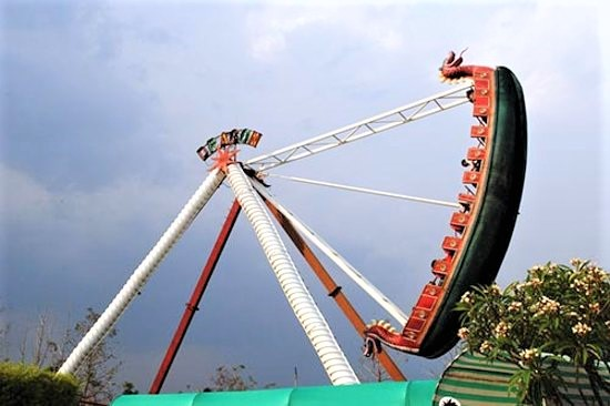 Fun N Food Village, the largest fun park with thrilling rides.