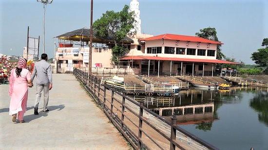 Koradi Mandir, dedicated to Goddess Durga and is one of the sakthi peeth.